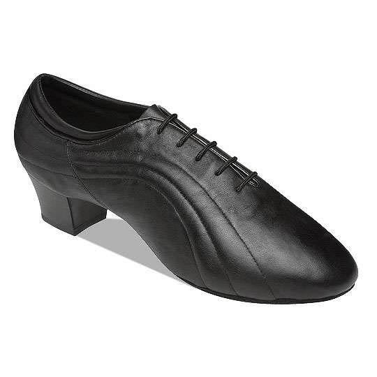 8504-Black Leather