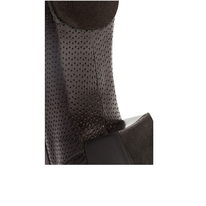 1225 Black Leather-Perforated1